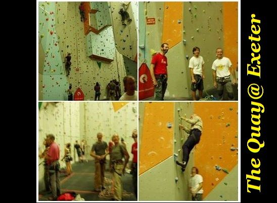 The Quay Climbing Wall at Exeter