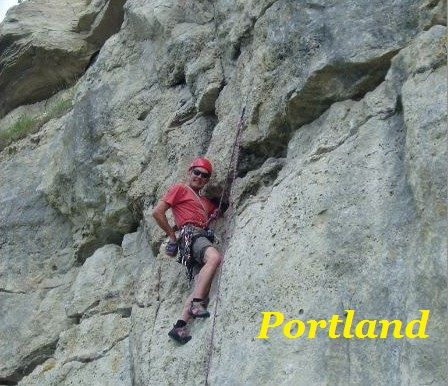 Rick Snell on bolts at Portland