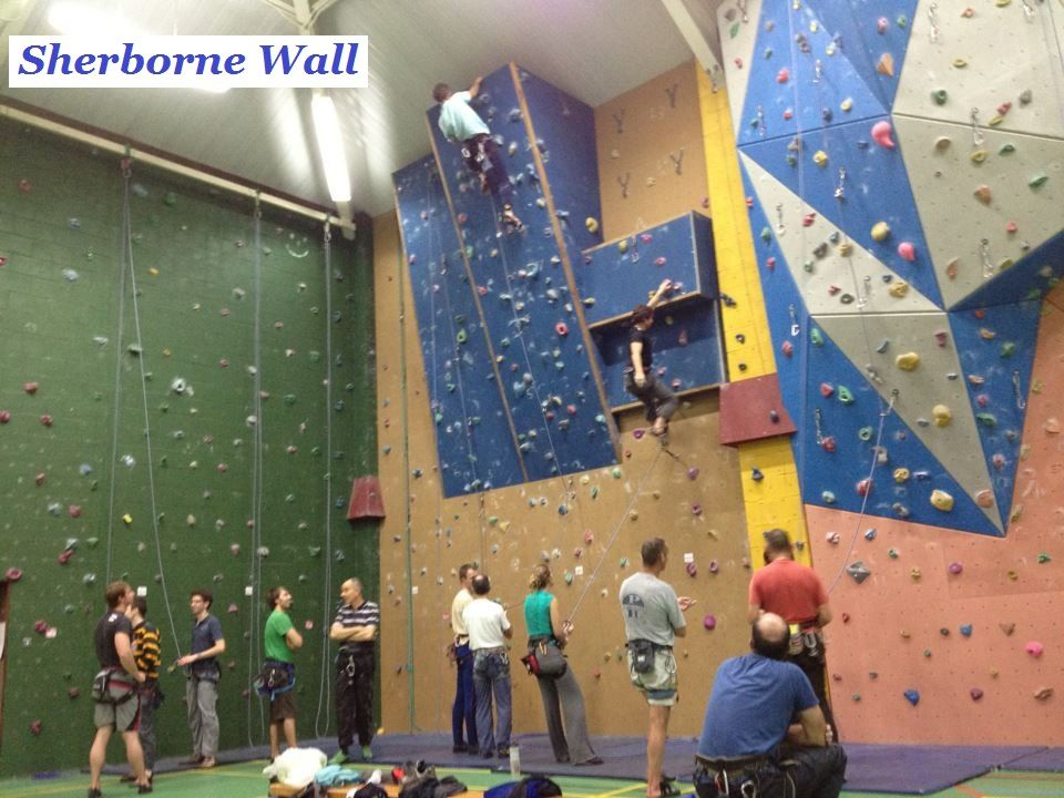 Tuesday evening at the Sherborne Wall