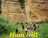 Tuesday evening at Ham Hill Quarry